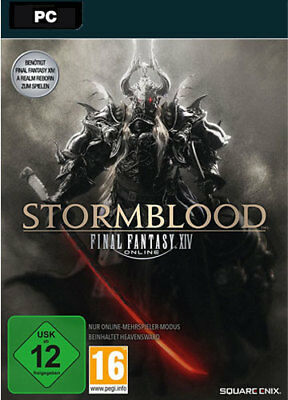 Final Fantasy XIV: Stormblood Addon [EU/DE] PC FF 14 DLC CD KEY Download Code