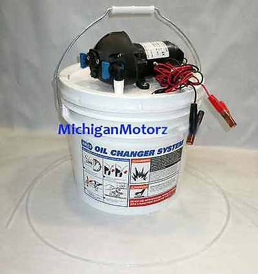 Jabsco Do-It-Yourself Oil Change System with Pump - 17800-2000