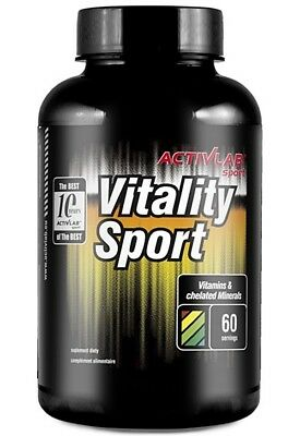 ActivLab Vitality Sport 120 caps. Vitamins & Chelated Minerals ! free shipping !