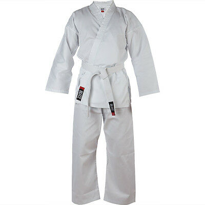 Blitz Adult Polycotton Student Lightweight Karate Suit with FREE WHITE BELT