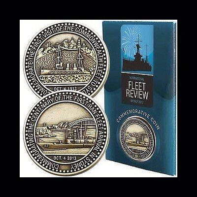 Fleet Review Commemorative Coin-Royal Australian Navy 100 Years