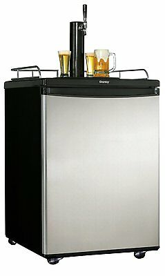 Danby DKC5811BSL Keg Cooler - Stainless - Local pick up in NJ
