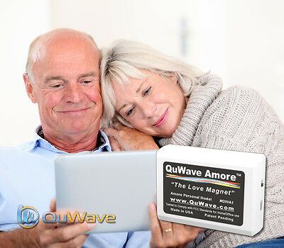 QuWave Amore the Love Magnet QWA1W for Deeper Love, More Romance, and Intimacy
