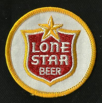 "Vintage Lone STAR Beer 2"" Collectors Patch - New Old Stock"