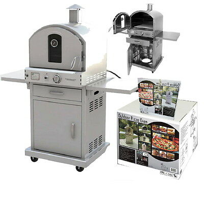 Pacific Living Outdoor Pizza Oven PL8430SSBG070