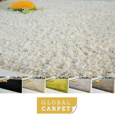 Small X-Large Size Very Thick Plain Soft Shaggy Rug Funny Highline Non Shedding