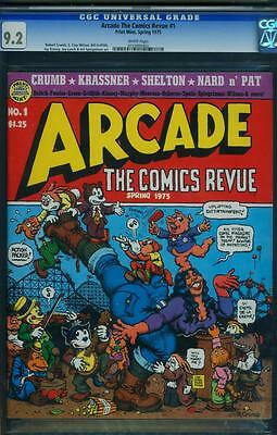 Arcade The Comics Revue 1 Cgc 9.2 - White Pages