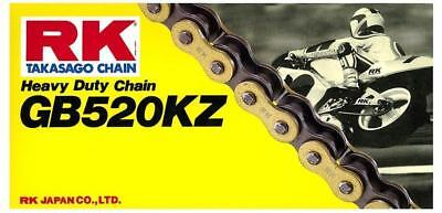 RK Mx GB520KZ 520 Gold Motocross Dirt Bike Motorbike Off Road 120 Link Chain