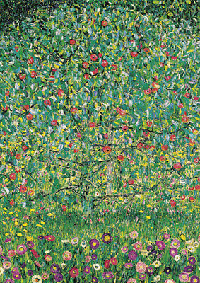 Gustav Klimt - The apple tree - HUGE A1 59.4x84cm QUALITY Canvas Print Unframed