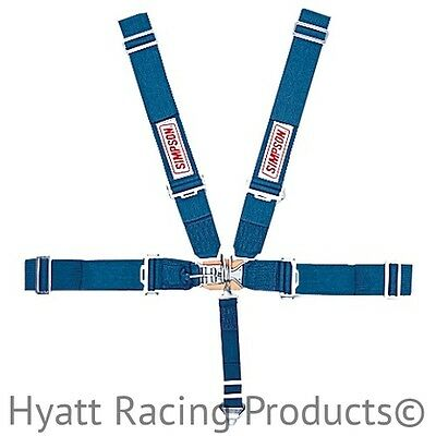 Simpson Racing Seat Belts Harness 29064 - Pull Down, Wrap Around (All Colors)