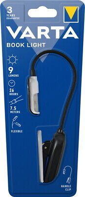 Varta Leselampe Easy Line LED Book Light inkl. 2 CR2032 Batterien 16618