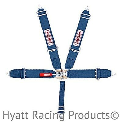 Simpson Racing Seat Belts Harness 29061 - Pull Up, Bolt In (All Colors)