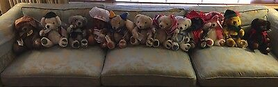 A Complete Set Of Nisbet Zodiac Bears, Lot Of 12! NWT, Mint Condition!