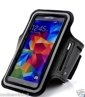 Sport Jogging GYM Armband Arm Strap Pouch Case Holder FOR Samsung Galaxy S5 mini