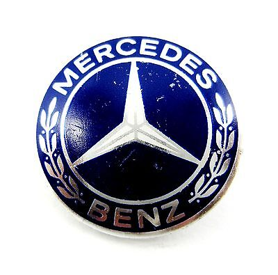 MERCEDES-BENZ LOGO CAR  LAPEL PIN BADGE BY WEST-GERMANY