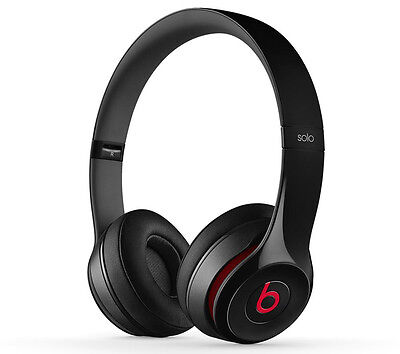Beats by Dr. Dre - Solo2 On-Ear Headphones - Black - NEW -UNOPENED