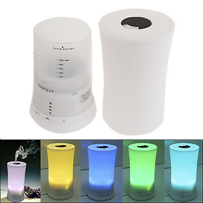 TECNICO Ultrasonic Aroma Diffuser with Color Changing LED Mood Light