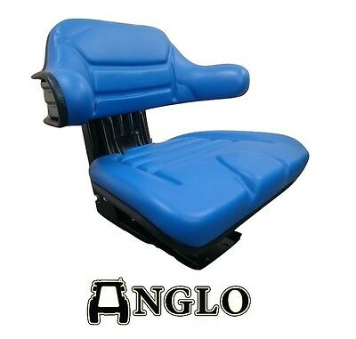 Ford 2000 3000 4000 5000 Tractor Suspension Seat (Blue) 2600,3600,4600, 1000 NEW