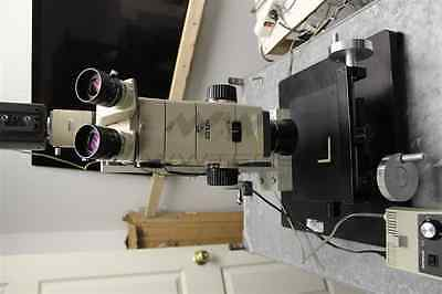 Olympus SZH Research Stereo Microscope with Microdial XYZ Stand extras!! usz
