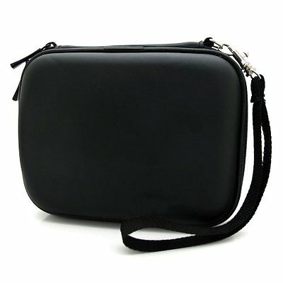 co2CREA(TM) Black Hard EVA Shockproof Carrying Travel Case Pouch Bag for Toshiba