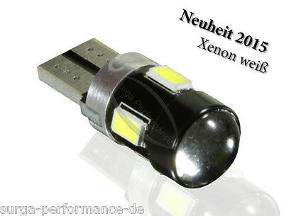 1x LED Standlicht Weiss Canbus VW Golf 4 5 6 Passat 3B 3C Scirocco T5 Polo