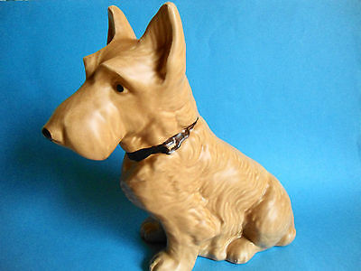 Vintage Sylvac Mac Terrier Dog Model 1209 The Largest - Perfect