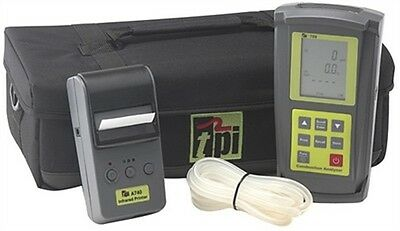 TPI 709A740 Combustion Efficiency Analyzer Kit with A740 Infrared Printer