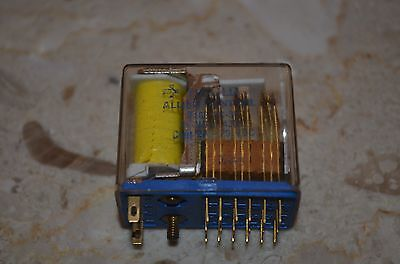 Gould Allied T163-3C-3C Plug In Relay 20 Blade 4Pdt 24Vdc