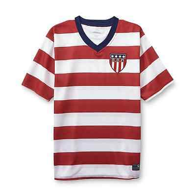 Men's USA Soccer Jersey (Red & White) - Brand New With Tags