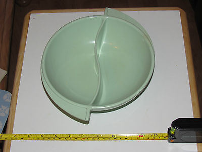 Divided Green Bowl by Boonton.