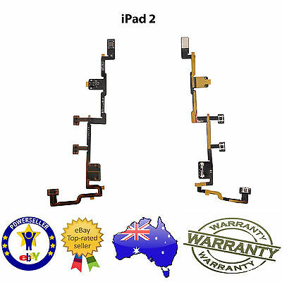 for iPad 2 - Power ON / OFF Flex cable - NEW Replacement Repair Part