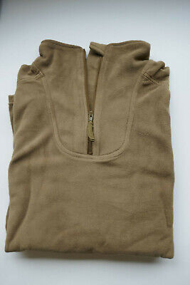 "NEW - PCS Cold Weather OLIVE Fleece Thermal Undershirt Size 190/110 (46"" Chest)"