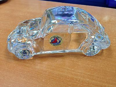 RARE HOFBAUER COLLECTION MADE IN GERMANY ECHT BLEIKRISTALL BUGGY CRYSTAL CAR
