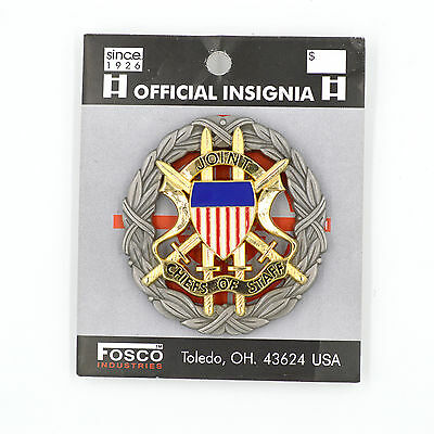 Us Military Insignia Joint Chiefs Of Staff Full Size Badge!!