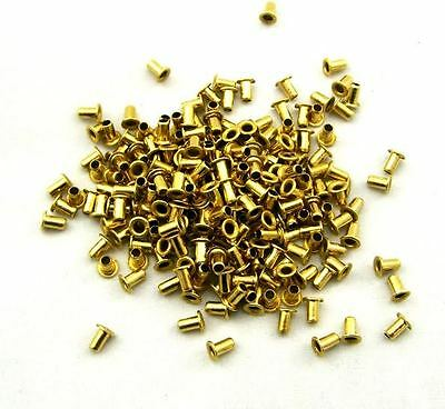 200 Beekeeping bee hive frame BRASS EYELETS