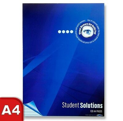 Student Solutions Dyslexia Visual Memory 50Sht Refill Pad 80gsm (Choose Colour)