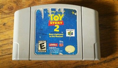 Tested Working Toy Story 2 Nintendo 64 N64 Video Game Cartridge