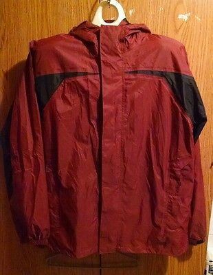 Guide-Series--Waterproof- red and black raincoat new with tags