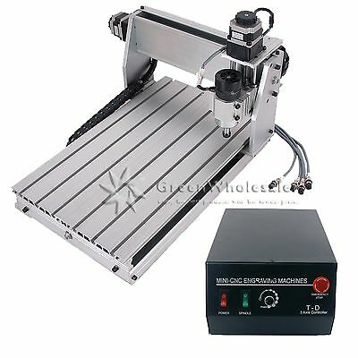 USA Ship 3040T Engraver Engraving Machine CNC Router 3 Axis Drilling Cutter