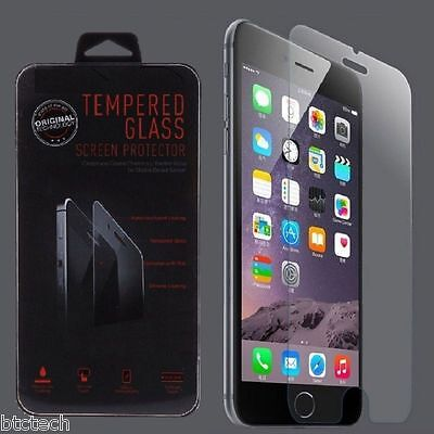 Wholesale Lot of 10x Tempered Glass Screen Protectors for Apple iPhone 6 6S 4.7""
