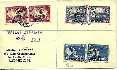 3/12/1945 SWA First Day Cover FDC - Postage & Revenue - WINDHOEK SO 132