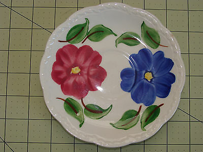 HERITAGE WARE BY STETSON UNDERGLAZE HAND PAINTED