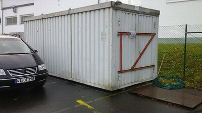 Materialcontainer, Lagercontainer,Baustellencontainer