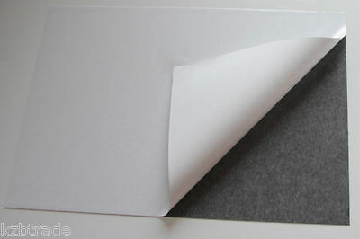 SELF ADHESIVE MAGNETIC FLEXIBLE SHEET - 0.5mm THICK - VARIOUS SIZES - DIY #4