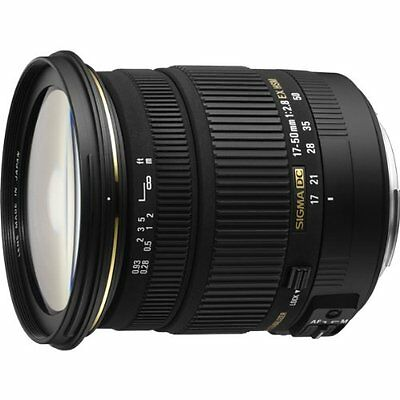 SIGMA standard zoom lens 17-50mm F2.8 EX DC OS HSM for Sigma  APS-C only