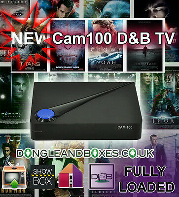 Fully loaded Android tv box IPTV with D&B TV