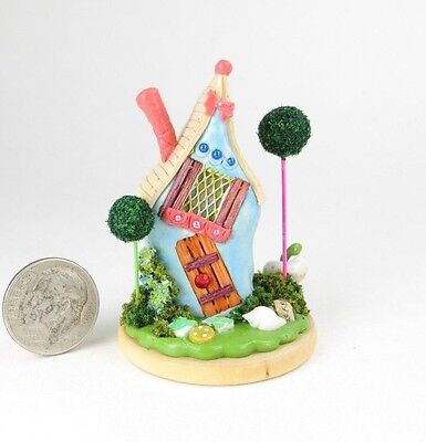 Very Cute Handcrafted Miniature Whimsical Fairy House  OOAK by O'Dare