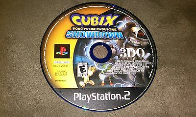Cubix: Robots for Everyone Showdown (Sony PlayStation 2) disc only