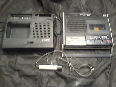 SONY TC-95 A cassette corder with remote microphone HIP HOP DJ RAPE TECHNO METAL