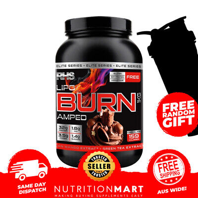 RHS LIPO BURN AMPED 1kg - THERMOGENIC PROTEIN - WPI / WPC